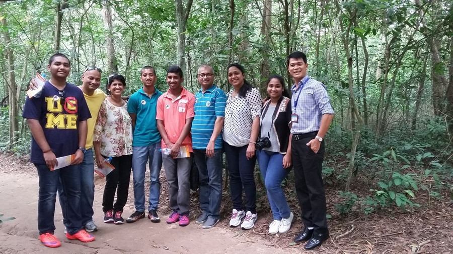 Biju Geevarghese Jacob group from India  - September 2016