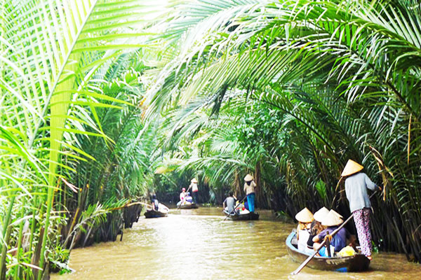Natural beauty of Mekong delta 1 day